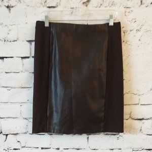 Lauren RL Pencil Brown Skirt 4